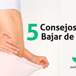 5 Consejos Para Bajar de Peso